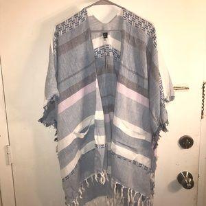 NEW WITH TAGS Striped kimono